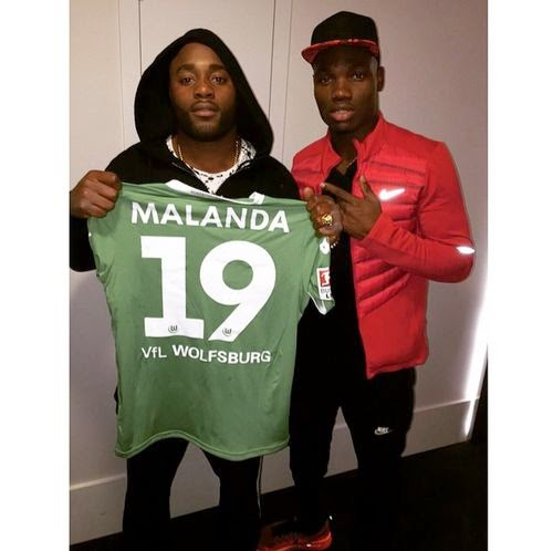 Junior Malanda brother also posted the same photo, by the way