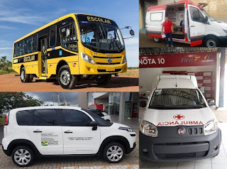 Em Picuí, arraiá da assistência social chega com entrega de mais 4 veículos novos