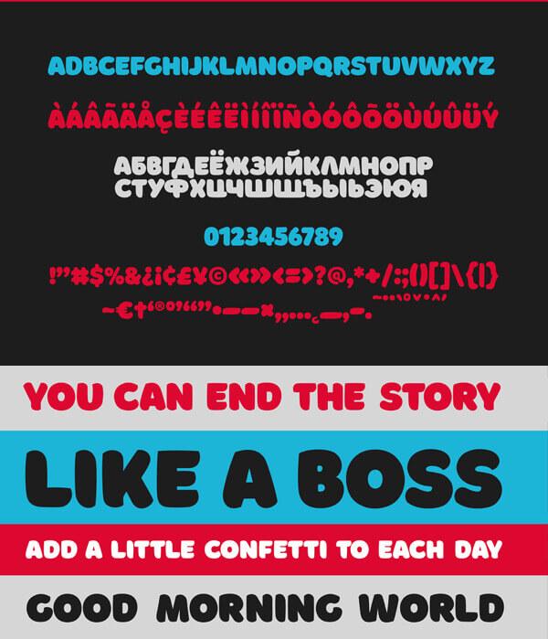 Free Font - Borsok Free Font