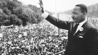"""Martin Luther King Jr. em Washington D.C., em 1963, quando fez o famoso discurso """"Eu tenho um sonho"""" - Divulgação"""