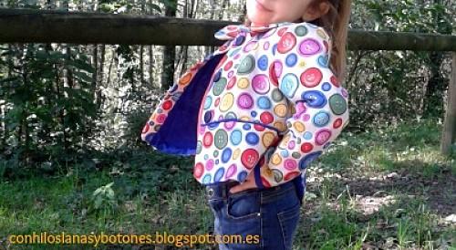 Con hilos, lanas y botones - Chaqueta Beetle (by Mamacosesola)
