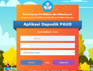 Download Aplikasi Dapodik PAUD Offline versi 3.5.0 Juli 2019