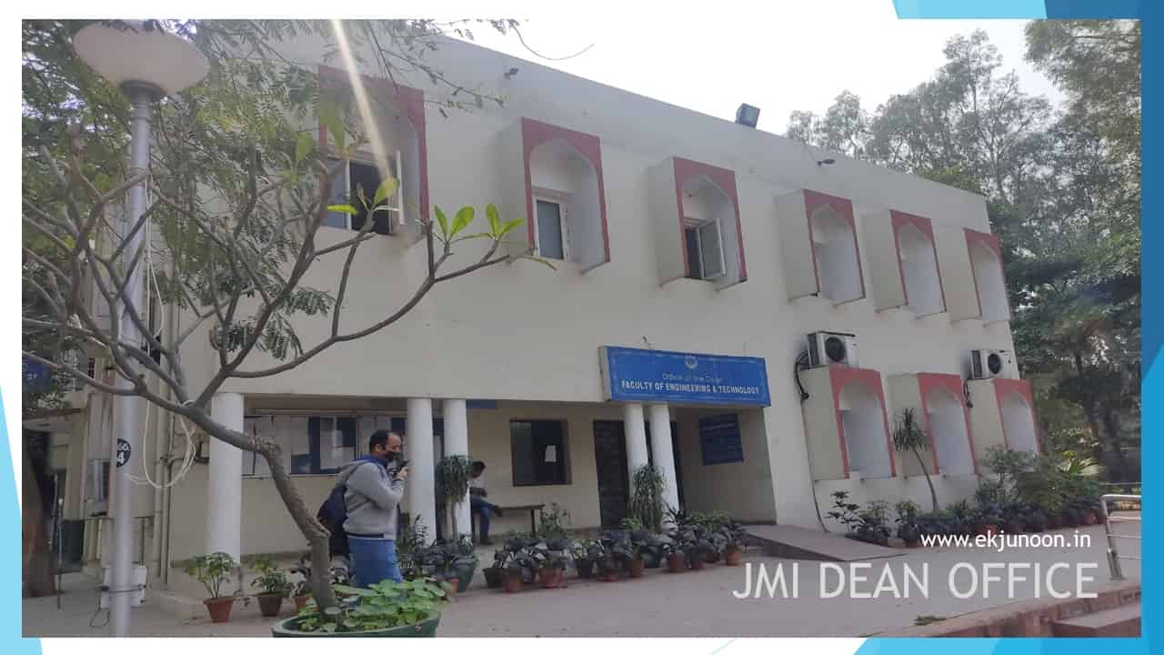 dean office of jamia millia islamia new delhi