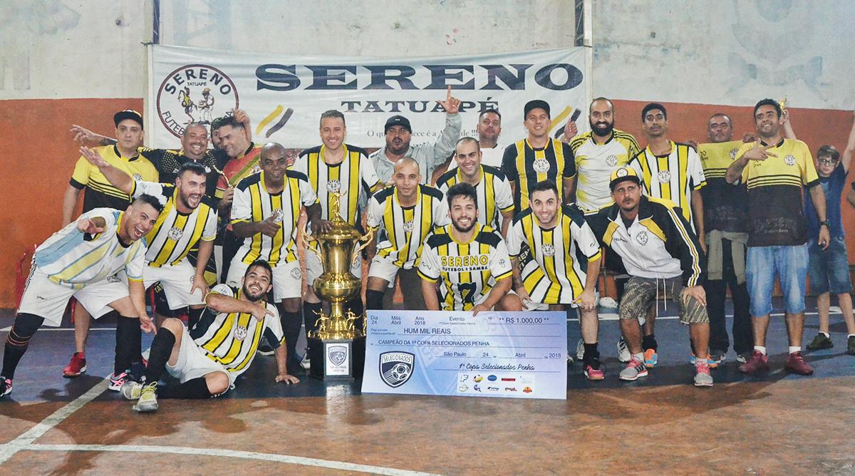 Sereno Tatuapé é campeão da Copa Selecionados