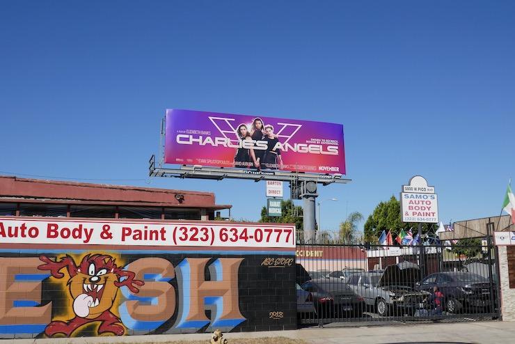 Charlies Angels billboard