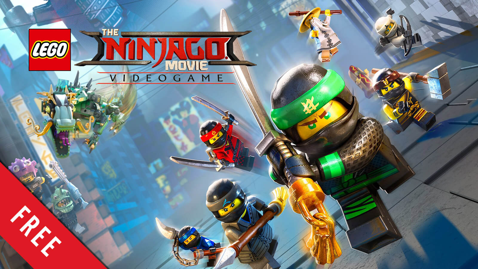 Lego Ninjago Movie Video Game Free Now Gameslaught