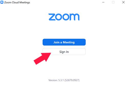 Cara Membuat Akun Zoom Meeting Melalui Aplikasi PC