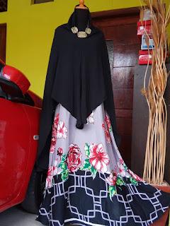 distributor gamis cantik dan murah, jual gamis syari