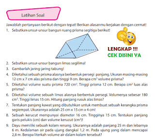Kunci Jawaban Halaman 161 162 Latihan Soal Buku Senang Belajar Matematika Kelas 6 www.simplenews.me