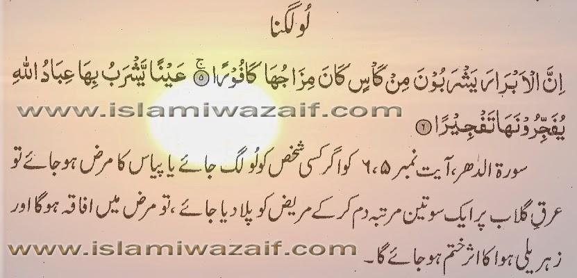 loo lagne ka ilaj in urdu