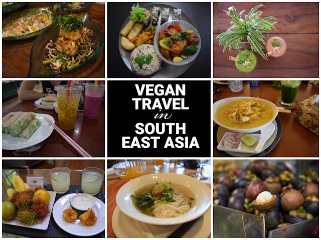 vegan travel in southeast asia
