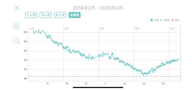 レコーディングダイエット,標準体重56.3kg,美容体重51.2kg,リバウンド,タバタ式トレーニング,コロナ