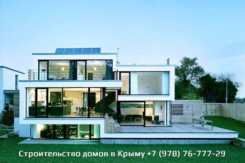 Деревянные дома в Крыму цены и фото