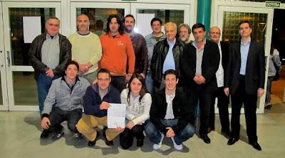 Equipo de C. C. Sant Andreu 2010