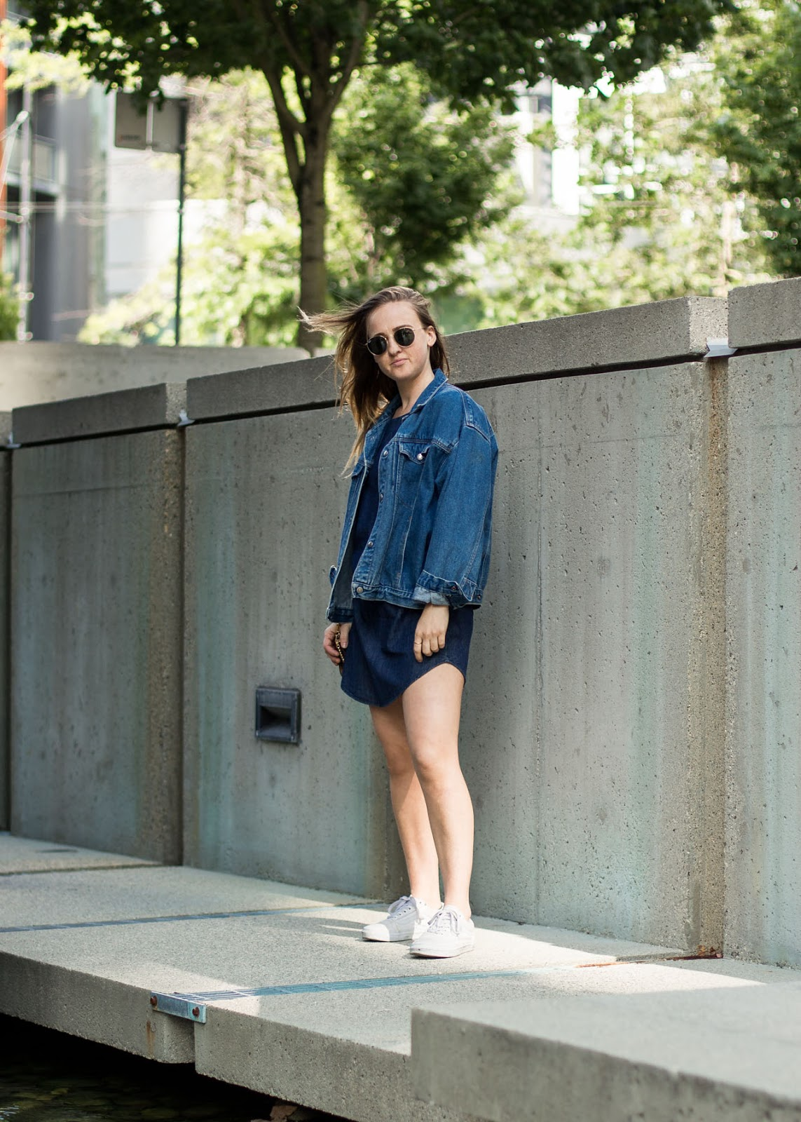 Denim on denim - Transitional styling - Vancouver Fashion Blogger - In My Dreams