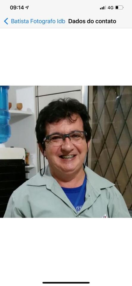 LUTO: Morre fotógrafo e taxista Francisco Batista, casado com a elesbonense Vera Lúcia Araújo; corpo sepultado em Elesbão Veloso.