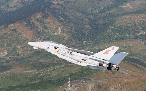 Arma3用F-14 Tomcat戦闘機MODのVF-74 Be-Devilers