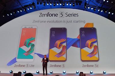 ASUS CEO, Perkenalkan Zenfone Generasi ke-5 di MWC