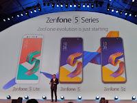 Asus Zenfone 5 Series 2018 Launching di Barcelona Spanyol