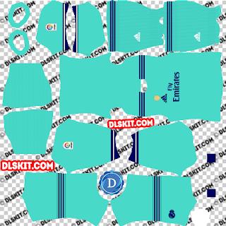 DLS Real Madrid Third Kit 2019/20 Dream League Soccer 2020 512x512
