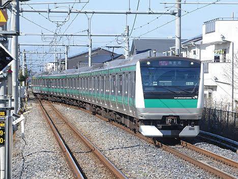 【ダイヤ改正で1本だけ新設!】E233系の通勤快速 海老名行き