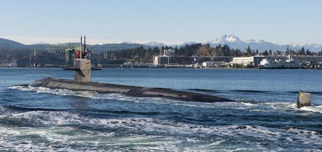 El USS Jacksonville llega a Bremerton para ser desmantelado después de 36 años en servicio