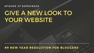 Give a new look to your website