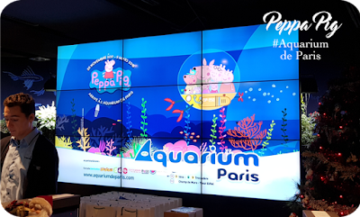 Peppa Pig la nouvelle attraction : Aquarium de Paris