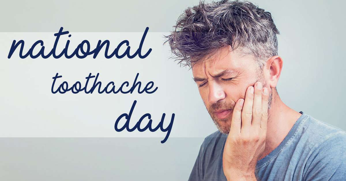 National Toothache Day Wishes Awesome Picture