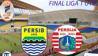 Live Streaming Final Liga 1 U-19 2018 Persib vs Persija