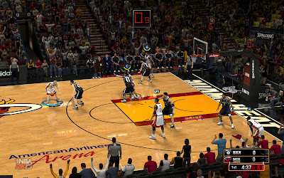 NBA 2K13 Floor Reflections Mod HD