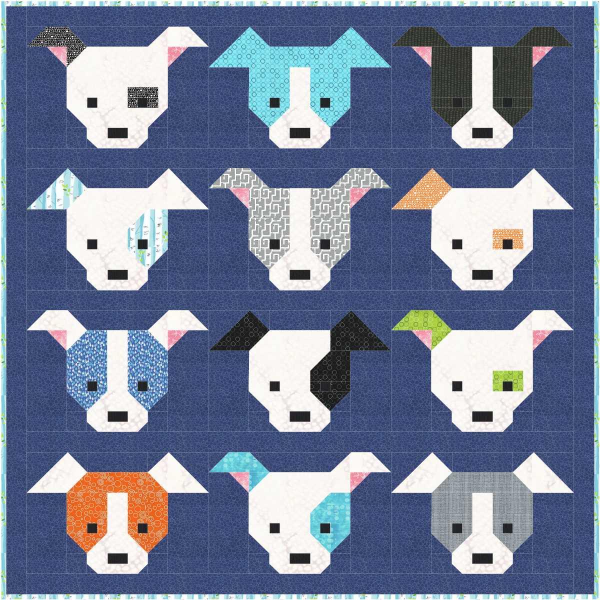 Sew Fresh Quilts: Dog Gone Cute : cute quilt - Adamdwight.com