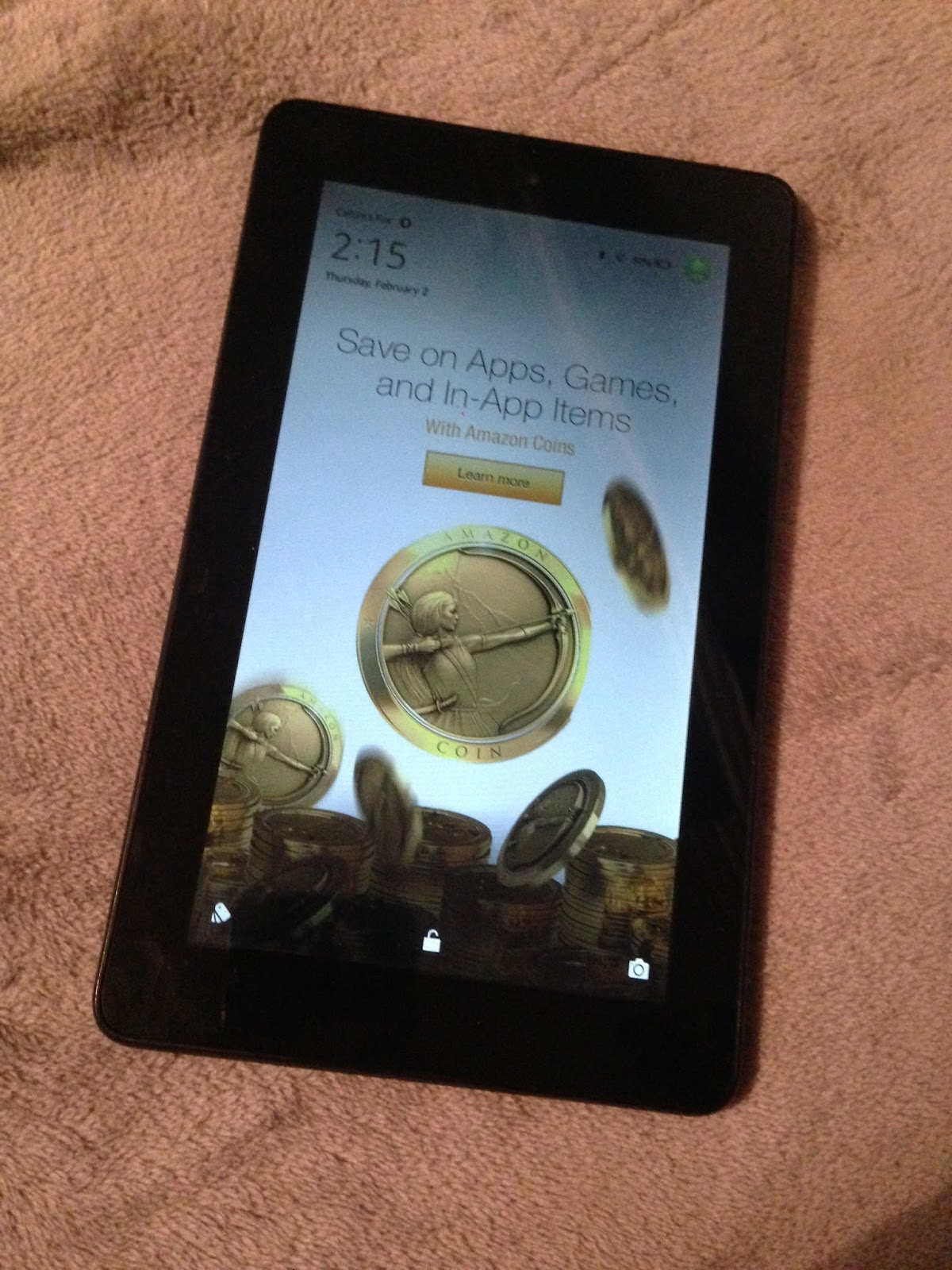 how to change lock screen on kindle fire 5th generation