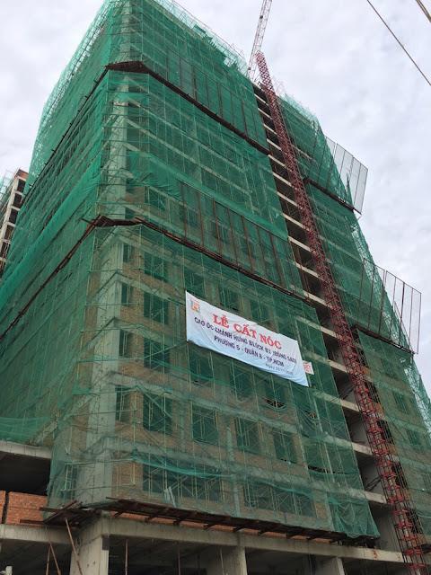 Tiến độ xây dựng Căn hộ Chánh Hưng Quận 8