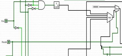 control unit 16-bit CPU Logisim
