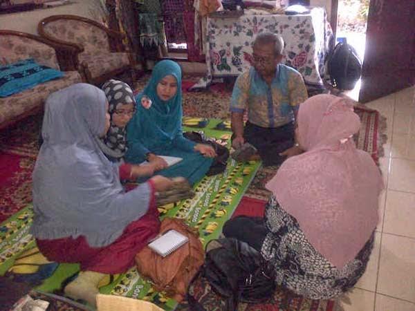 kursus batik sutera pekalongan