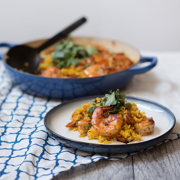 Chorizo and Shrimp Paella