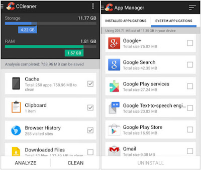 سي كلينر Ccleaner Android