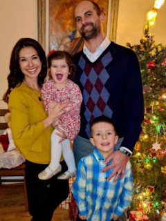 Benjamin Nielsen with his wife Ana Cabrera & their children