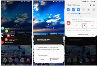 Cara Merekam Layar Hp Android