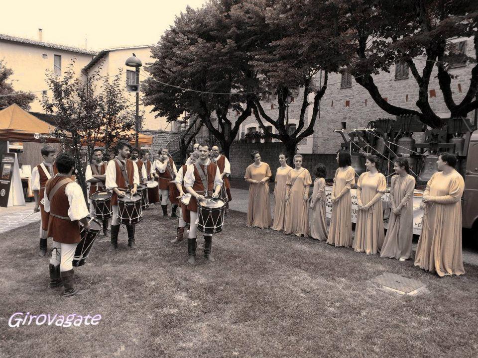 San Ginesio Alfieri tamburini danzatrici