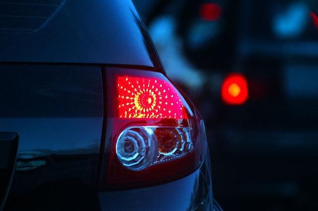 lampu kota mobil