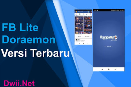 Download Facebook Lite Doraemon Theme (Terbaru 2019)