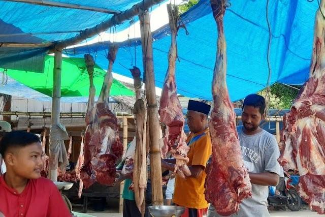 Harga Daging Meugang di Aceh Timur dan Langsa Masih Bisa Dikatakan Stabil