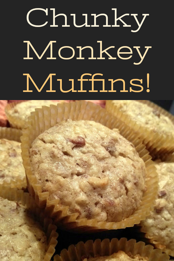 Super easy muffins with banana, pecans, coconut made with a cake mix! Perfect recipe for overripe bananas!