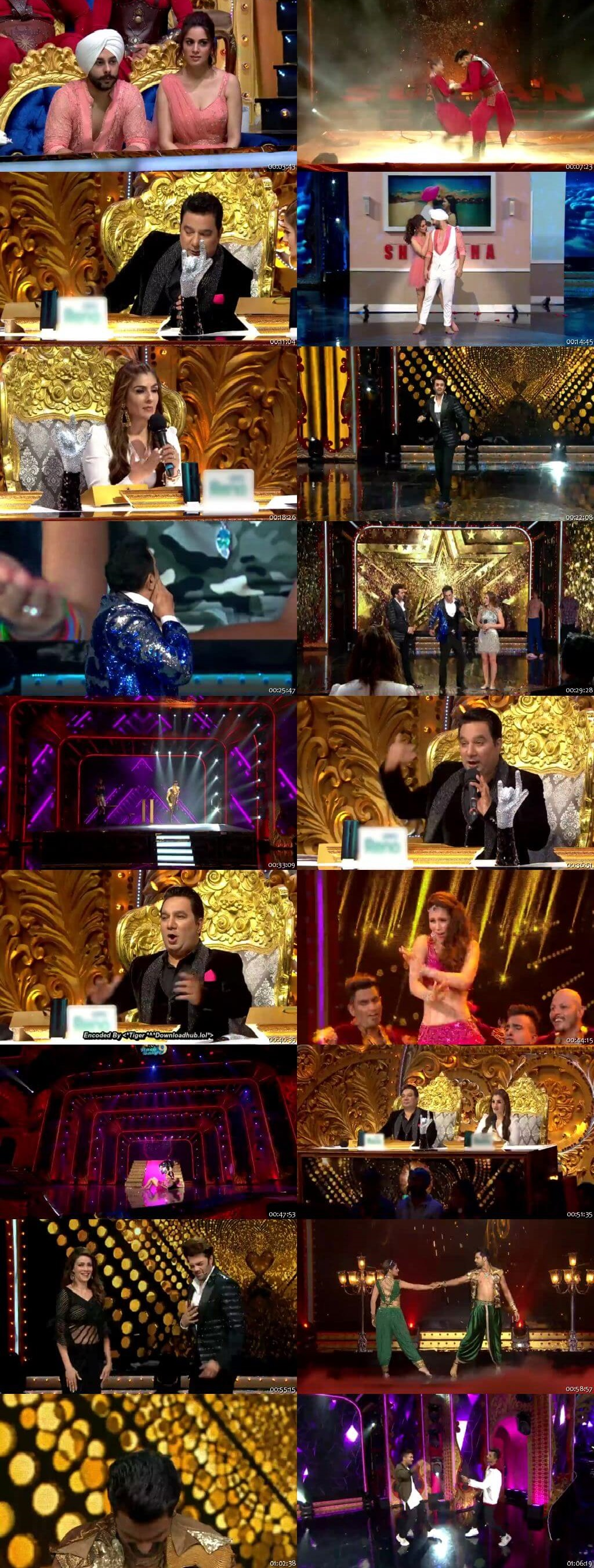 Screenshots Of Hindi Show Nach Baliye Season 9 27th July 2019 Episode 03 300MB 480P HD
