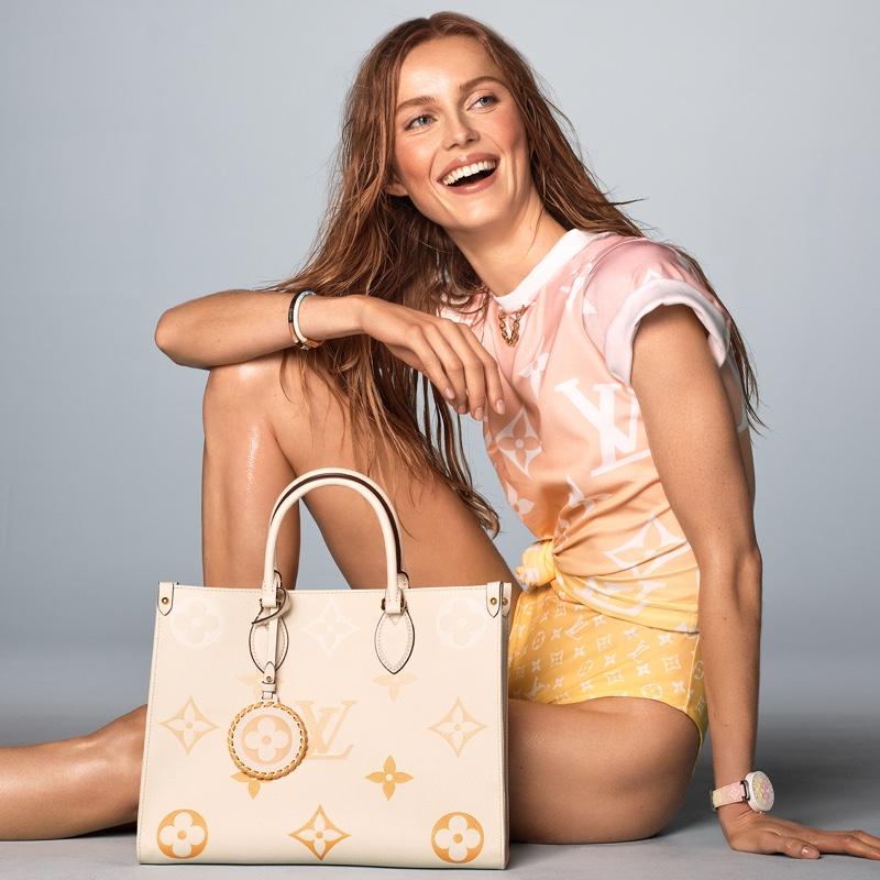 Steven Meisel photographs Louis Vuitton summer 2021 campaign.