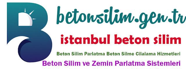 İstanbul Beton Silimi Cilalama Parlatma İşi