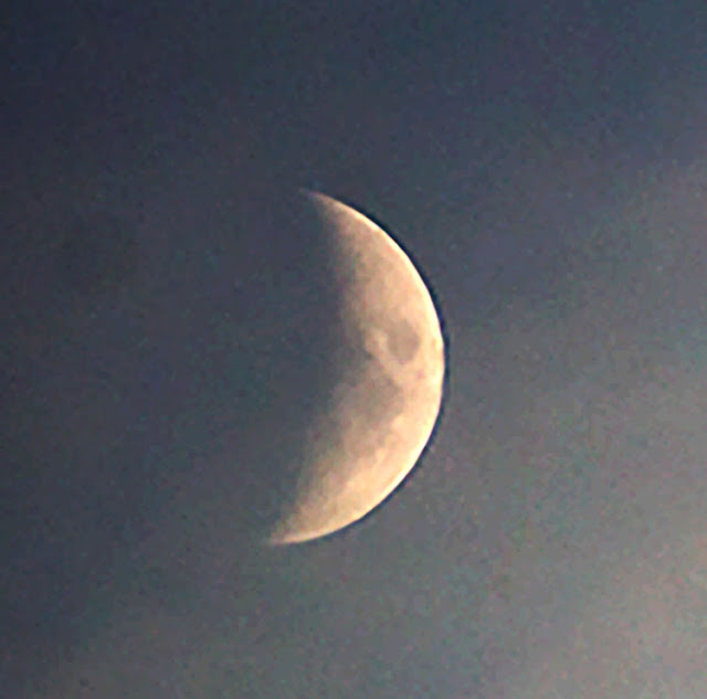 First lunar measurement data point of October 21 (Source: Palmia Observatory)