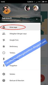 cara membuat akun Google drive
